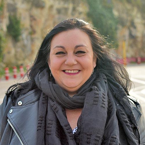 Gaby profesora de la Autoescuela Rabassada