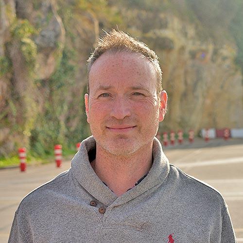 Víctor profesor de la Autoescuela Rabassada