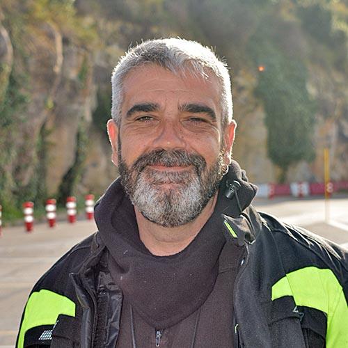 Xabi profesor de la Autoescuela Rabassada
